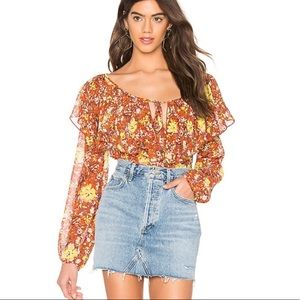 Free People Intimately Say It To Me Floral Bodysui